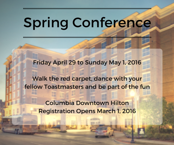 Spring Conference @ Hilton Columbia Center | Columbia | South Carolina | United States