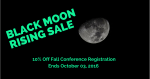 3-Day Sale on Fall Conference Registration