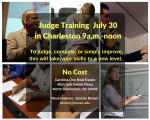 Date/Location Set for Free Judge Training