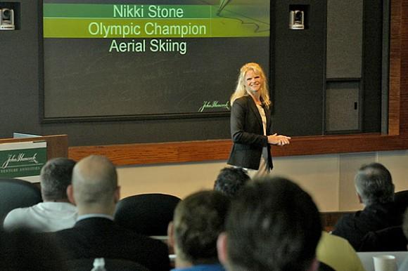 Nikki Stone speaking