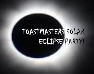 Toastmasters Solar Eclipse Party @ Otranto Public Library